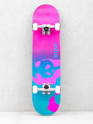 Deskorolka Enjoi Faded Panda Resin (blue/pink)