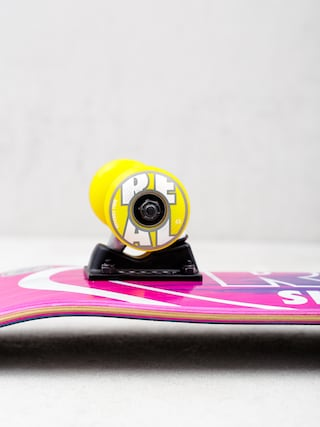 Deskorolka Real Metallic Oval Fades (pink/teal)