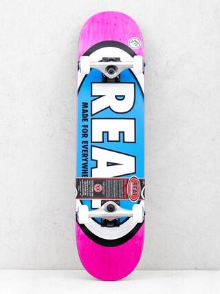 Deskorolka Real Team Ovals (pink)