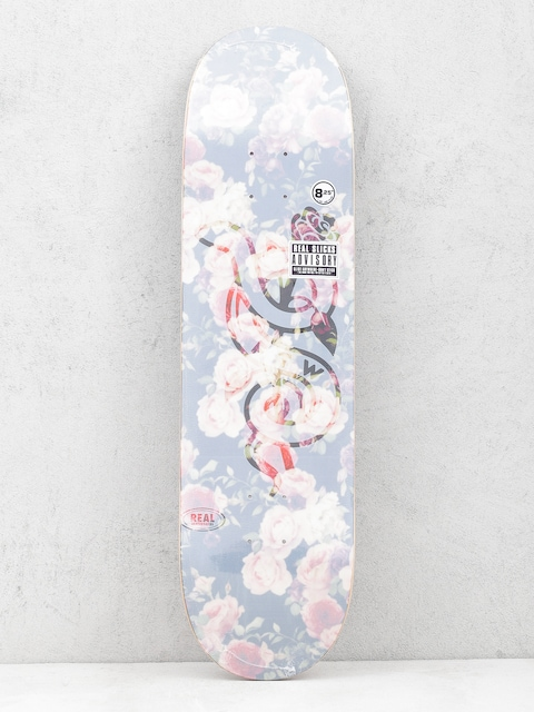 Deck Real Bloom Slick (transparent white/rose)