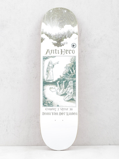 Deck Antihero Daan Book Of (white/olive)