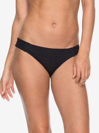 Dół od bikini Roxy Surf Memory Scooter Bottom Wmn (anthracite)