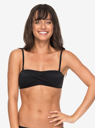 Góra od bikini Roxy Roxy Essentials Top Wmn (anthracite)