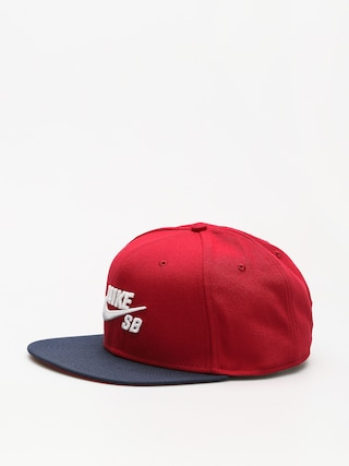 Czapka z daszkiem Nike SB Sb Icon ZD (red crush/obsidian/white)