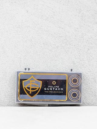 Łożyska FKD Pro Bearings Felipe Gustavo (black/gold)