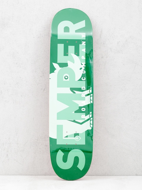 Deck Semper Skateboards Rhino (green)