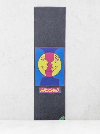 Papier Mob Skateboards Krooked Moon Smile (black)