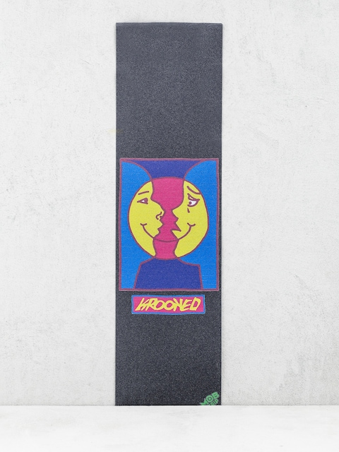 Papier Mob Skateboards Krooked Moon Smile (black)