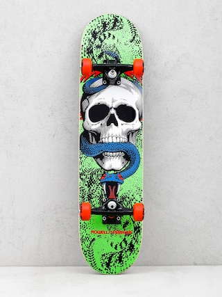 Deskorolka Powell Peralta Skull And Snake 13 One Off (green/black)
