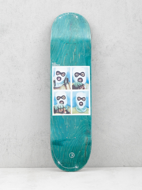 Deck Polar Skate Team Klez Zawisza (green)