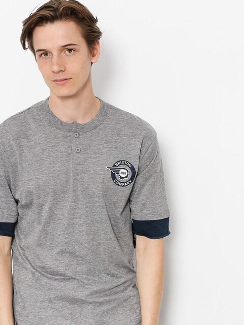 T-shirt Brixton Mercury Henley