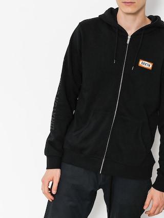 Bluza z kapturem Brixton Rockford Intl ZHD (black)