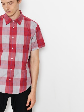 T-shirt Brixton Branson Wvn (red/grey)