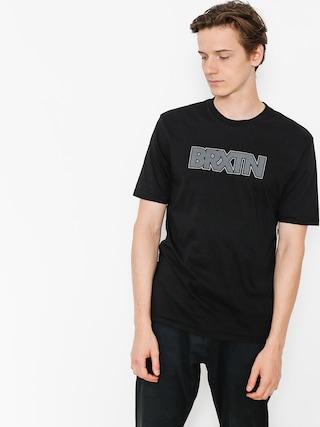 T-shirt Brixton Edison Prt (black)