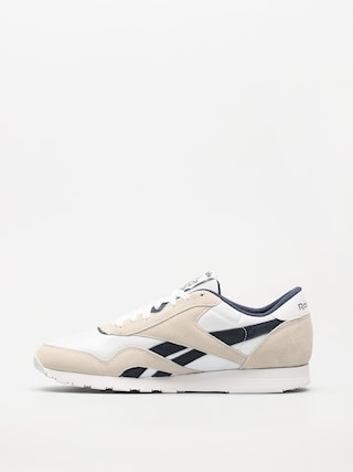 Buty Reebok Cl Nylon R (archive white/collegiate navy)