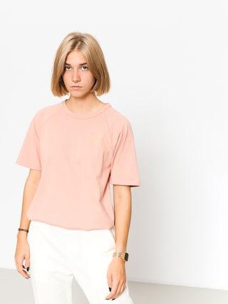 T-shirt Stussy Quinn S Sl Raglan Wmn (pink)