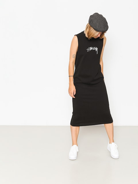 Sukienka Stussy Ezra Muscle Dress Wmn (black)