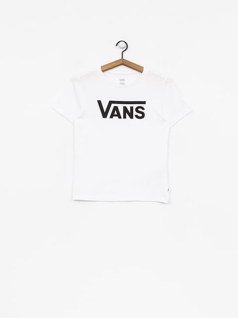T-shirt Vans Flying V Wmn (white/black)