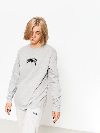 Longsleeve Stussy Stock Wmn (grey heather)