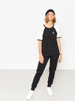 T-shirt Volcom Volstone Ringer Wmn (blk)