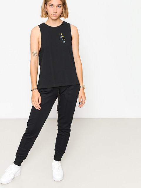 Koszulka Volcom Get High Neck Wmn (blk)