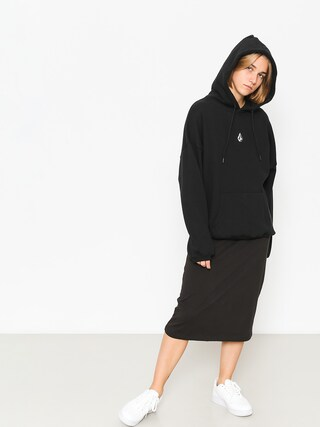 Bluza z kapturem Volcom Roll It Up HD Wmn (blk)