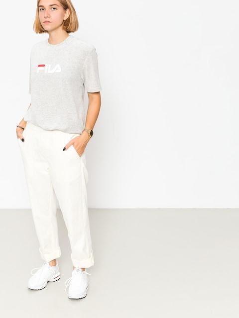 T-shirt Fila Richard Velvet Wmn (light grey melange bros)
