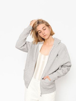 Bluza z kapturem Reebok F Fleece F ZHD Wmn (medium grey heather/medium grey heather)