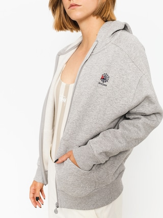 Bluza z kapturem Reebok F Fleece F ZHD Wmn (medium grey heather/medium grey heather)