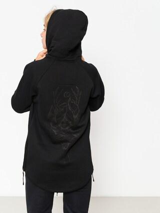 Bluza z kapturem Majesty Velvet Wmn (black)