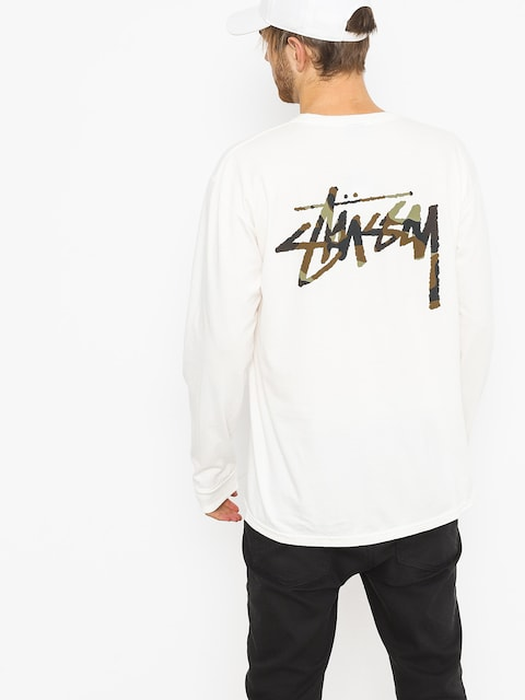 Longsleeve Stussy Camo Stock Pig Dyed Pkt (natural)
