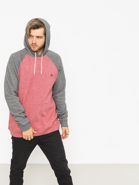 Bluza z kapturem Quiksilver Everyday HD (garnet heather)
