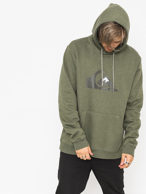 Bluza z kapturem Quiksilver Big Logo HD (thyme heather)