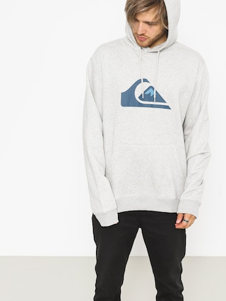 Bluza z kapturem Quiksilver Big Logo HD (light grey heather)