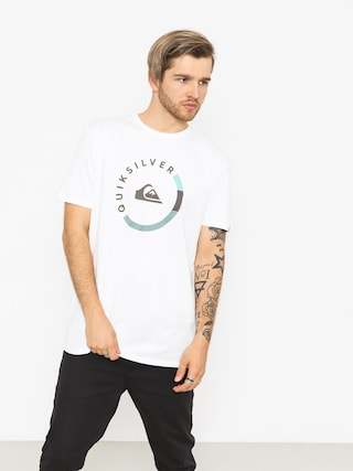 T-shirt Quiksilver Slab Session (white)