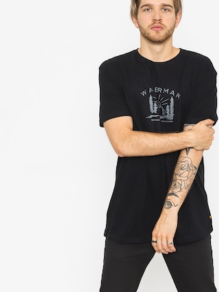 T-shirt Quiksilver Back To Nature (black)