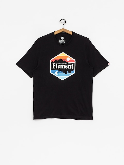 T-shirt Element Dusk (flint black)