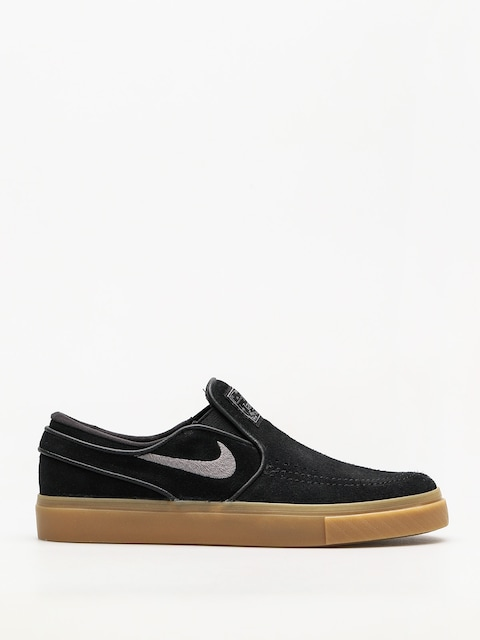 Buty Nike SB Air Zoom Stefan Janoski Slip (black/gunsmoke gum light brown)