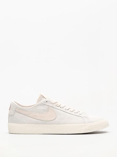 Buty Nike SB Sb Zoom Blazer Low Canvas Deconstructed (phantom/light bone habanero red)