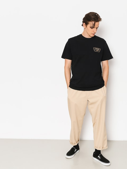 T-shirt Vans Full Patch Back (black/dirt)