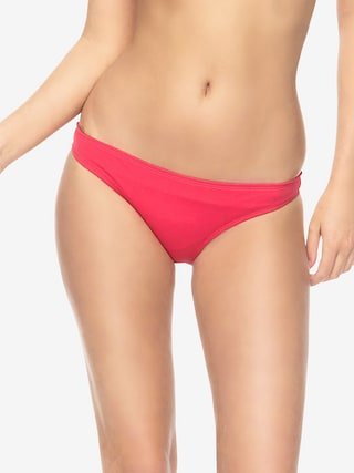 Dół od bikini Roxy Essential Surfer Bottom Wmn (rouge red)
