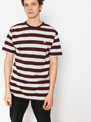 T-shirt DGK Folsom Custom (burgundy)