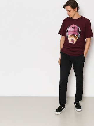 T-shirt DGK Red Nose (burgundy)