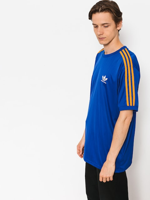 T-shirt adidas Clima Club Jers (collegiate royal/tactile yellow)