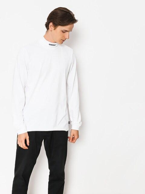 Longsleeve adidas Hicollartee (white/collegiate navy)