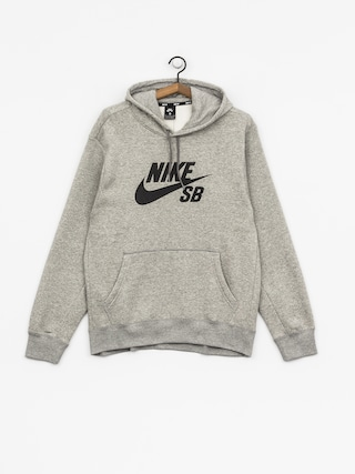 Bluza z kapturem Nike SB Sb Icon HD (dk grey heather/black)