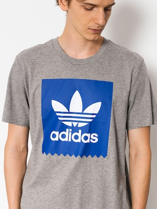 T-shirt adidas Solid Bb (core heather/collegiate royal)