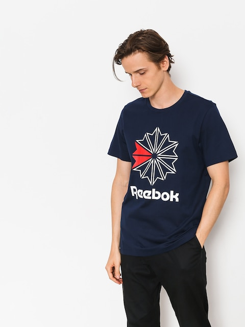 T-shirt Reebok F Gr (collegiate navy/white/primal red)