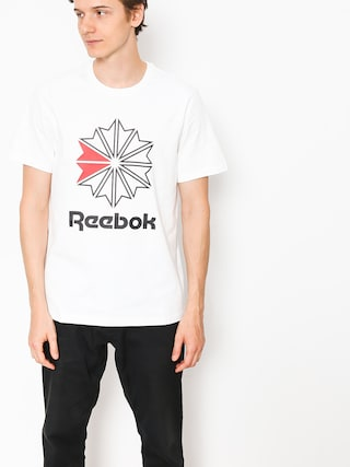 T-shirt Reebok F Gr (white/black)