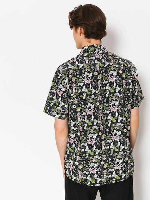 Koszula RipNDip Nerm Flower Button Up (black)